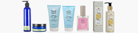 View body wash with body butter, bathing cream, manicure bathing essential and almond body lotion.