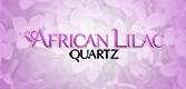 African Lilac Quartz Logo