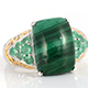 African Malachite Jewelry