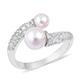Akoya pearl bypass ring.