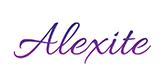 Alexite Gemstone Logo