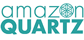 Amazon Quartz Gemstone logo.