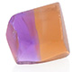 Rough cut Anahi ametrine stone.