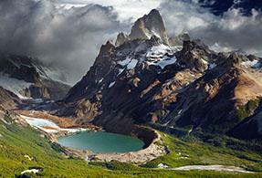 Argentinian landscape.