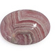 Argentina rhodochrosite oval shape gemstone.