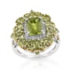 Arizona peridot ring.