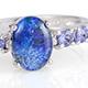 Australian boulder opal ring.