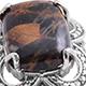 Australian Pilbara jasper ring.