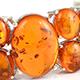 Baltic amber cuff.
