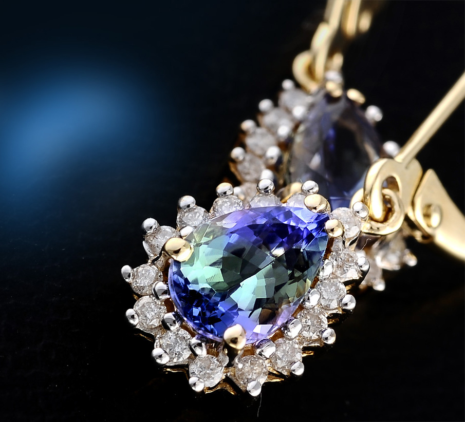 Famous Tanzanite: Bondi Blue Tanzanite Gemstone, Meaning, Value, History