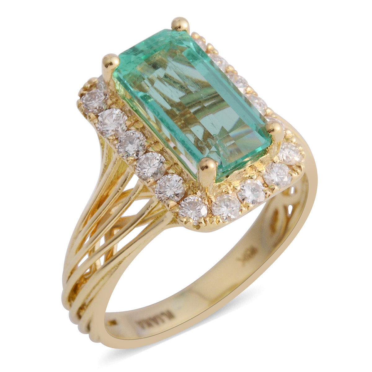 Shop Colombian emerald Rings.