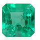 Boyoca Colombian emerald cushion shape gemstone.