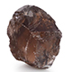 Brazilian smoky quartz rough cut gemstone.