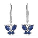 Burmese Sapphire Earrings.