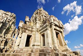 Monument in Cambodia.