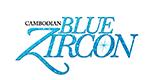 Cambodian Blue Zircon Logo
