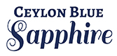 Ceylon blue sapphire logo.
