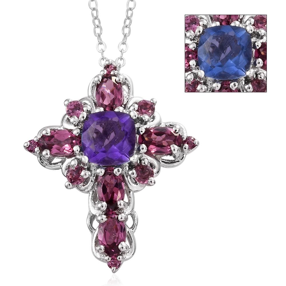 Shop for Color Change Fluorite Pendants & Necklaces.