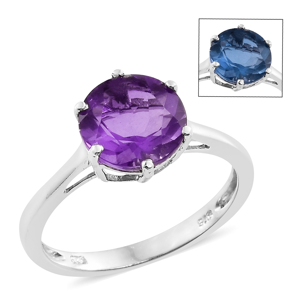 Shop for Color Change Fluorite Rings.