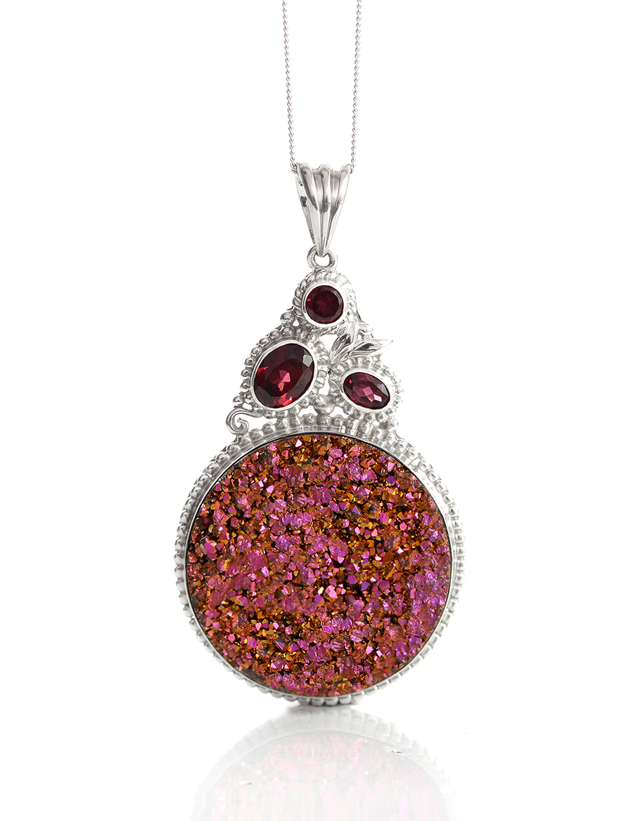 gemstone drusy quartz druzy jewelry information meaning