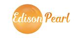 Edison pearl gemstone logo.