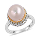 Edison pearl ring.