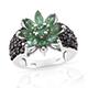 Emeraldine apatite ring.