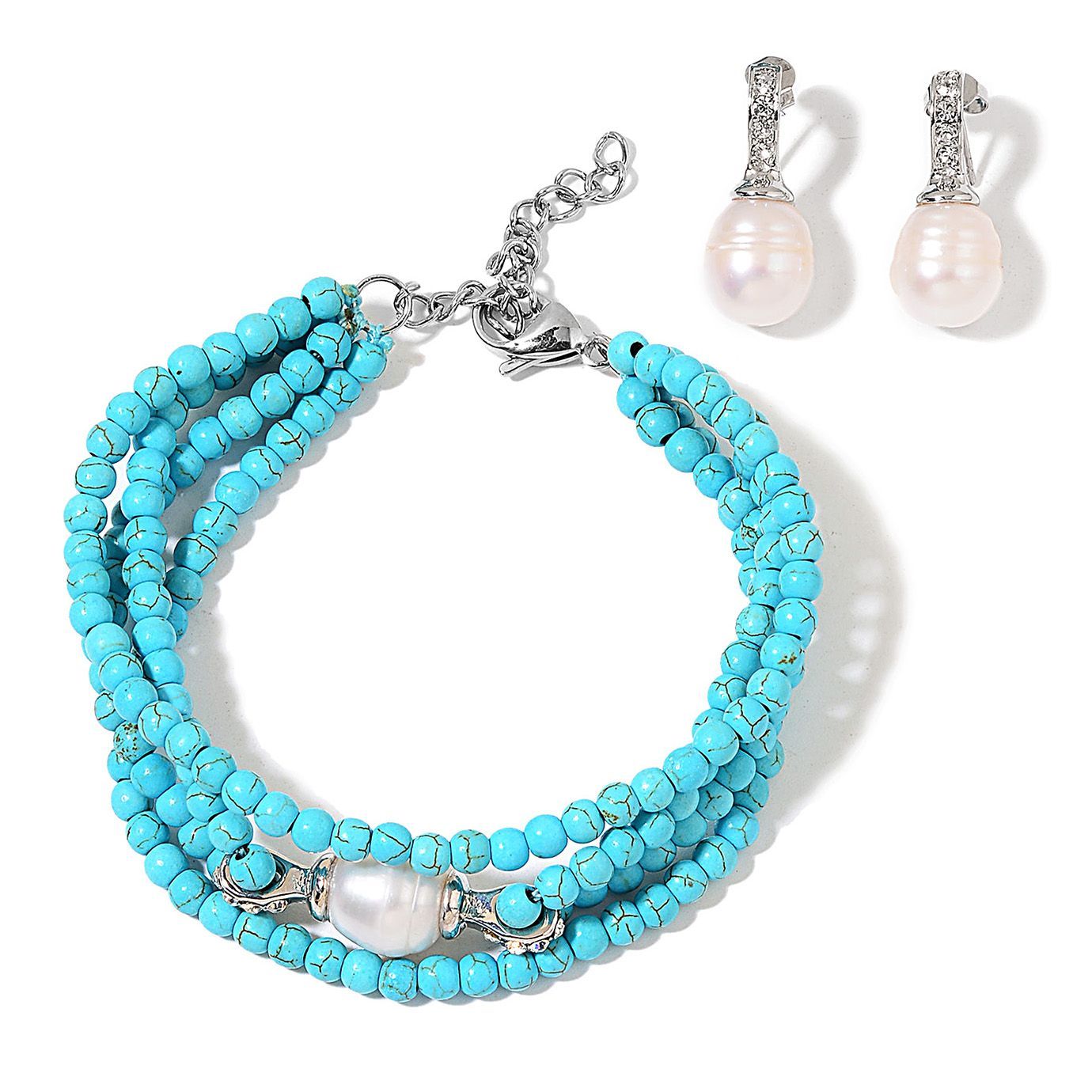 Shop for Howlite Jewelry Sets.