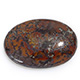 Hunan pietersite oval shape gemstone.