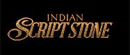 Indian Script Stone Logo