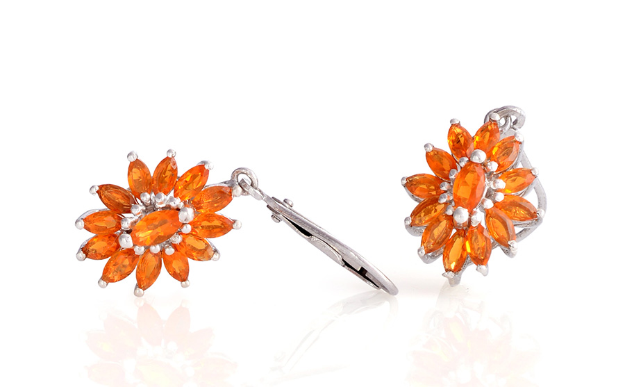 Fire Opal Gemstone Jewelry Information Meaning Shop Lc