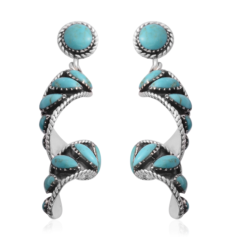 Shop Kingman Turquoise Earrings.
