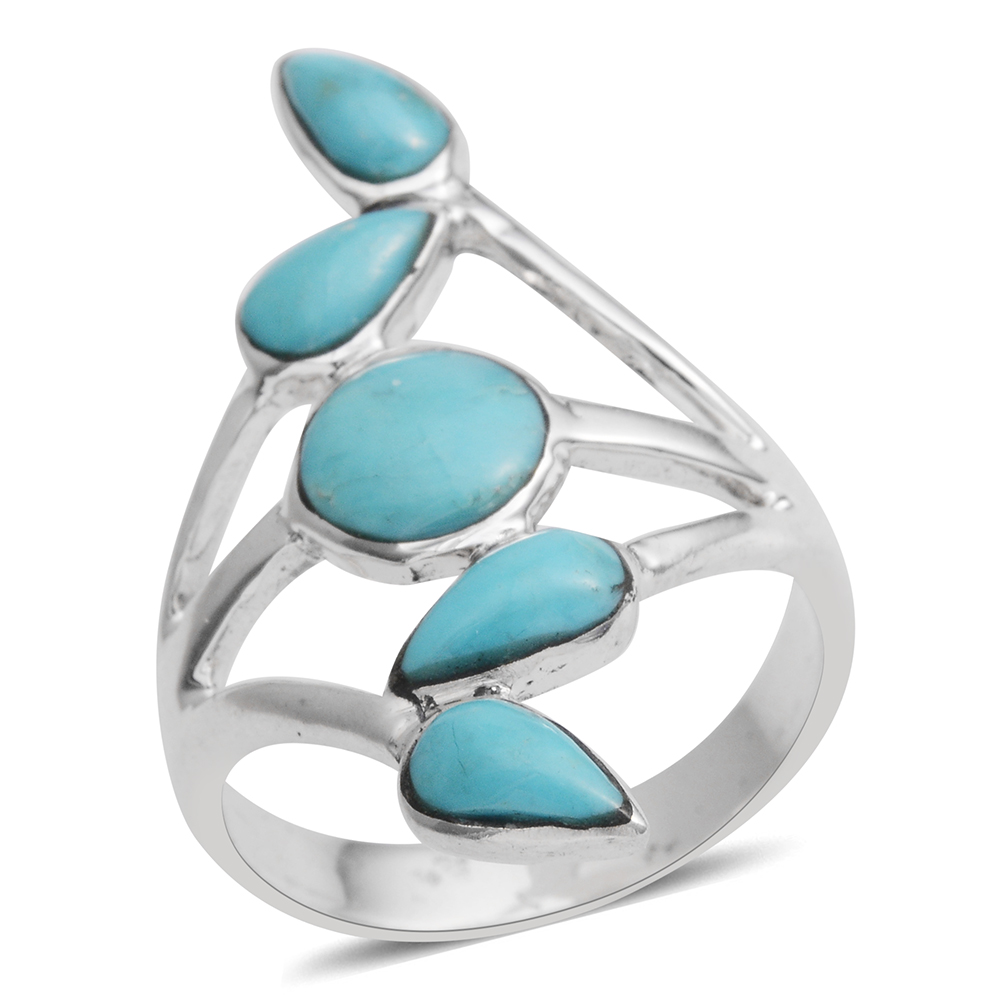 Shop Kingman Turquoise Rings.