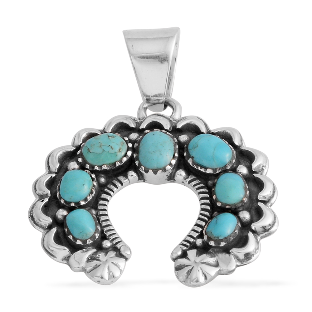 Shop Kingman Turquoise Pendants.