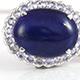 Lapis lazuli pendant.