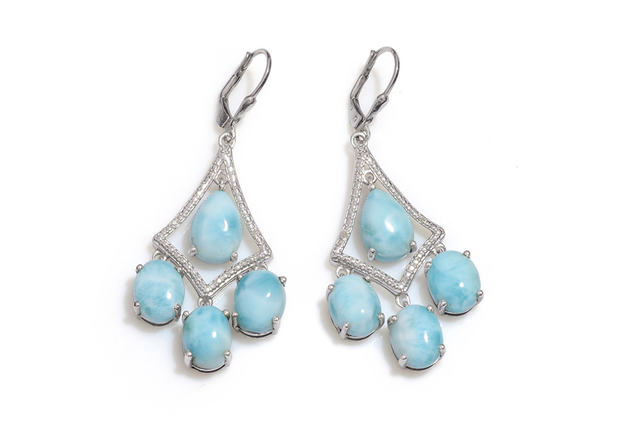 Larimar Stone Meaning, Properties, Jewelry Information | Shop LC
