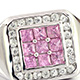 View pink sapphire ring at Shop LC.