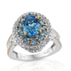 Marambaia topaz ring for women.