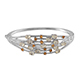 Marialite bangle in sterling silver.