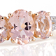 Marropino morganite ring.