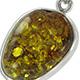 Mayan Green Amber Jewelry