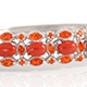 Exclusive design Mediterranean coral bracelet at Shop LC.