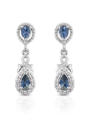 Montana Sapphire Earrings.