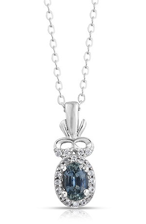 Montana Sapphire Necklaces & Pendants.