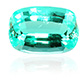 Mozambique Paraiba tourmaline faceted gemstone.