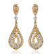 Natural Yellow Diamond Earring