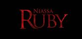 Niassa ruby stone logo.