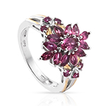 Shop for Nigerian Rubellite Rings.