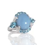 Oregon blue opal