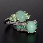 Peruvian mint green opal